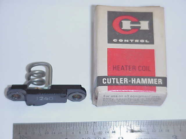1  # H1234 CUTLER HAMMER MOTOR STARTER THERMAL UNIT / OVERLOAD HEATER- OLD STOCK