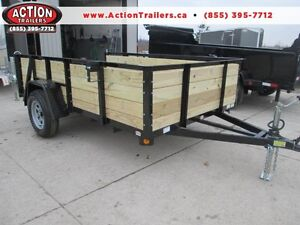 Ultimate all around utility trailer 6 x 10' w/ high sides $2089 London Ontario image 1