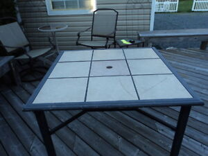 Patio table for sale