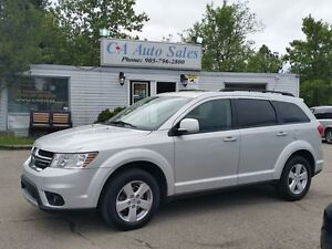 2011 Dodge Journey SXT 7 PASSANGER PUSH TO START& REAR AC