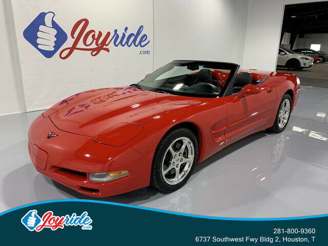 2004 Red Chevrolet Corvette Convertible  | C5 Corvette Photo 1