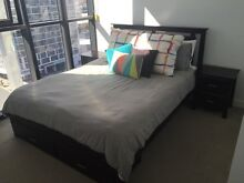 Queen Bed with Bed side tables Fortitude Valley Brisbane North East Preview