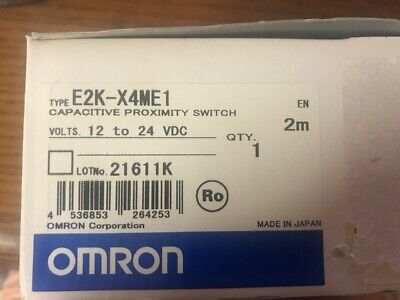 Omron Capacitive Proximity Switch Pn E2k-x4me1 12 To 24 Vdc New In The Box