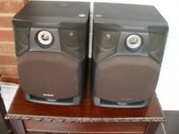 2 X AIWA SPEAKERS