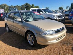 2001 Ford Laser KQ LXI Gold 4 Speed Automatic Hatchback
