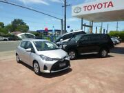 2014 Toyota Yaris NCP130R MY15 Ascent Silver Pearl 4 Speed Automatic Hatchback Hurstville Hurstville Area Preview