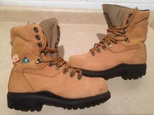 Men's Kodiak Steel Toe Work Boots Size 7.5