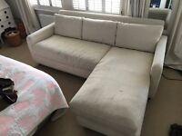 Habitat Corner Sofa - great price for quick sale