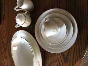 Noritake china Devotion pattern
