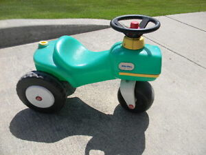 Little Tikes ride on toy tractor