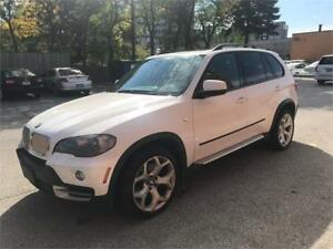 "2007 BMW X5 4.8i AWD, RUNBOARDS, PANO, HUD, 20"" ALLOYS, LOADED!"