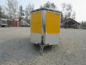 PRE-OWNED 6' x 12' WITH RAMP DOOR & INSULATED