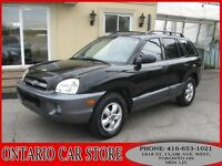 2006 Hyundai Santa Fe GLS 4WD LEATHER SUNROOF