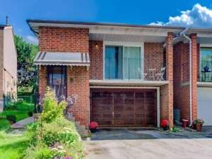 3 Bedroom Main Level Apartment For Rent At Dufferin and Steeles