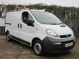 VAUXHALL VIVARO 2900 DI SWB 1.9 DIESEL PANEL VAN / TWIN SLIDING DOORS / MOT OCT!