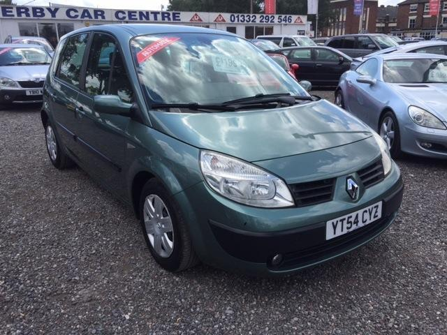 2004 RENAULT MEGANE SCENIC 1.6 VVT Expression AUTOMATIC LOW MILEAGE