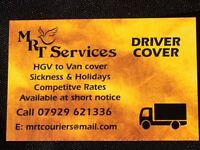 HGV to Van Driver Cover