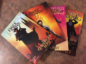 Qty 4 Stephen King's The Dark Tower - Graphic Novels