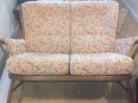 Ercol Retro 2 Seater Sofa