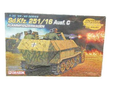 Dragon 6202 Sd.Kfz.251/16 Ausf.C Flampanzerwagen; 1:35