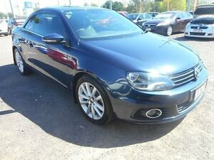 2011 Volkswagen EOS 1F MY11 155TSI DSG Blue 6 Speed Sports Automatic Dual Clutch Convertible Winnellie Darwin City Preview