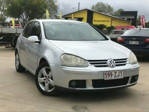 2008 Volkswagen Golf V MY08 Pacific Silver 6 Speed Manual Hatchback South Toowoomba Toowoomba City Preview