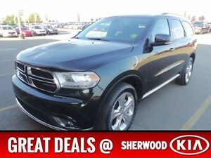 2015 Dodge Durango AWD LIMITED DVD Accident Free,  Rear DVD,  Le Edmonton Edmonton Area image 1