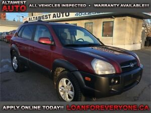 2006 Hyundai Tucson GL 4wd loaded leather