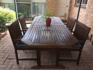 Outdoor Dining Table setting Forestville Warringah Area Preview