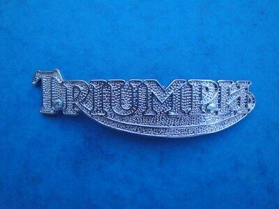 GENUINE TRIUMPH TANK BADGE 83 5361 1979 83  T140E T140D  US 28 GALLON