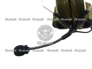 Boom-Microphone-Foam-for-3M-Peltor-Comtac-II-III-IV-TRI-PRC-152-148-Mbitr-Eagle