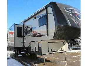 INCREDIBLE TOY HAULER VALUE - 2016 SPARTAN 3712 Edmonton Edmonton Area image 3