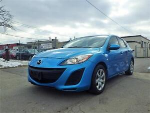 REDUCED!!! 10 MAZDA 3 HATCHBACK! LOW KM, ONE OWNER! CERTIFIED!
