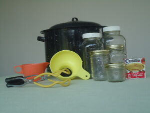 Preserving Kettle and Jars