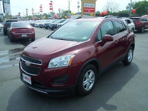 2013 CHEVROLET TRAX 1LT- BLUETOOTH, ONSTAR, ALLOY WHEELS, SPEED