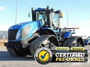 *Reduced* 2014 NH T9.615 SmartTrax Tractor, PTO, MegaFlow 0%-24m
