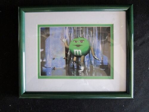 M & M  Mars  Original Lithograph  With COA  -  Limited Edition