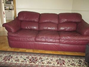 Full Grain Leather SOFA and CHAIR
