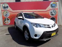 2014 Toyota RAV4 ZSA42R GX (2WD) White Continuous Variable Wagon West Gosford Gosford Area Preview