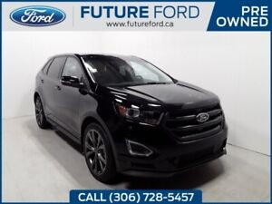 2018 Ford Edge SPORT | TOP OF THE LINE | BLACK OUT RIMS | TWIN P