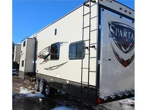 INCREDIBLE TOY HAULER VALUE - 2016 SPARTAN 3712 Edmonton Edmonton Area image 4