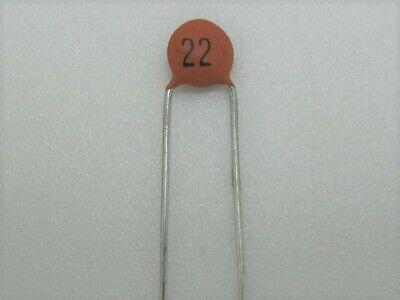 25 Pcs -22pf 50v Disc Ceramic Capacitors - Ref 004