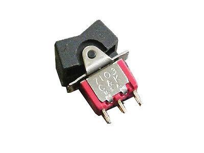 C K 7103 Spdt On-off-on Mini Rocker Switch Lot10