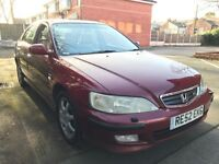2002 Honda Accord 2.3 Type-V Auto 5 Door Hatchback