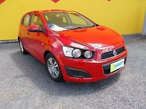2015 Holden Barina TM MY15 CD Red 6 Speed Automatic Hatchback Winnellie Darwin City Preview