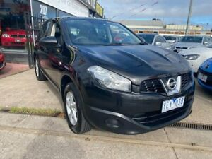 2010 Nissan Dualis J10 Series II MY2010 ST Hatch X-tronic Black 6 Speed Constant Variable Hatchback Maidstone Maribyrnong Area Preview