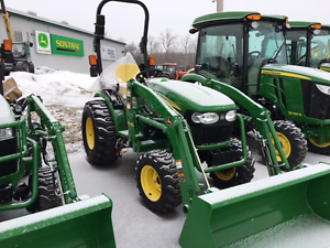 NEW JOHN DEERE 2032R - H130 LOADER - LOW PRICE - $491/MONTHLY