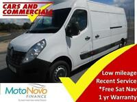 2015 15 RENAULT MASTER LWB LM35 BUSINESS 125PS DIESEL