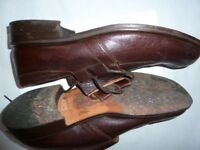 Men's casual brown shoes size 12