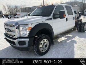 2014 Ford F-450 DRW XLT V10 6.8L  4X4  Cab & Chassis VMAC Comp